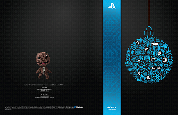 Cover of Sony PlayStation Holiday Booklet